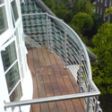 Metal Roof Terrace & Balcony